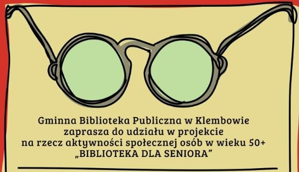 "Rekrutacja do projektu ""Biblioteka dla Seniora"""