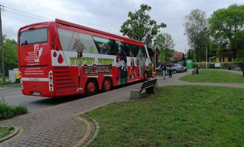 Zbiórka krwi w Ostrówku