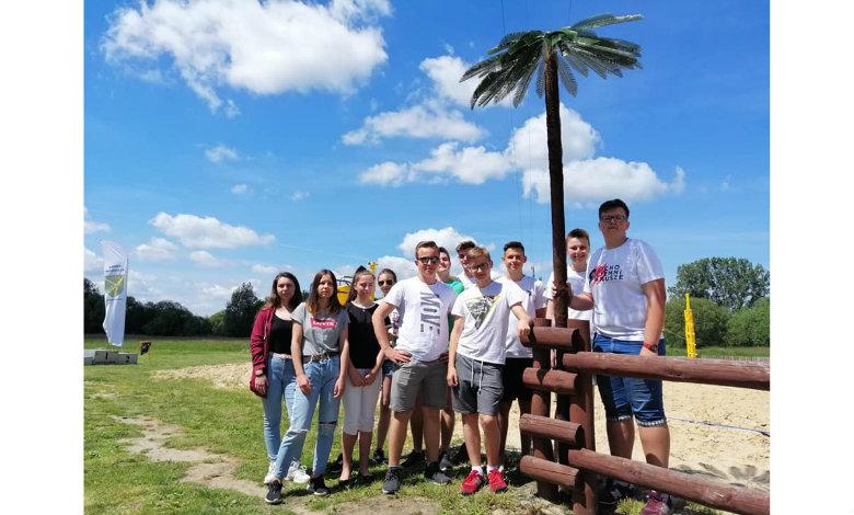Młodzieżowa Rada Gminy Klembów w akcji - Impreza pod palmą