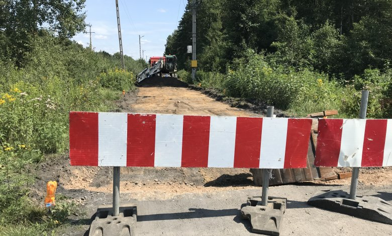 Rozpoczęcie budowy ul. Przytorowej w Ostrówku
