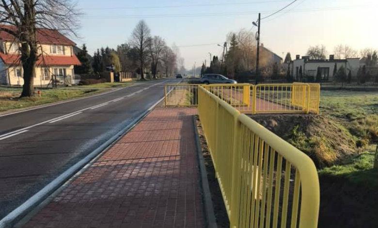 Zakończyła się budowa chodnika przy drodze wojewódzkiej nr 636, łączącego Roszczep i Wolę Rasztowską